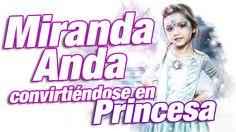 Elsa frozen / como disfrazarse de princesa de Disney - Miranda Anda