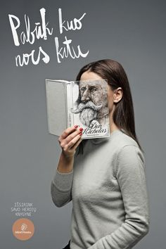 Become someone else by reading. #MyArtInstitute