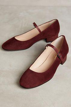 Miss Albright Block Heel Mary Janes