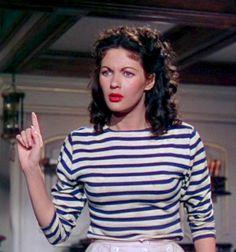 yvonne de carlo buccaneers girl | Yvonne De Carlo - in ''Buccaneer's Girl'' 1950 - http://www.flickr.com ...