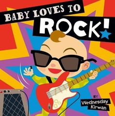 Humorous text and colorful illustrations fill the jammin' pages ofBaby Loves to Rock!Rife with funny puns and rhymes about a variety of comical animals enjoying different genres of music, this board book is sure to delight music fans of all ages.