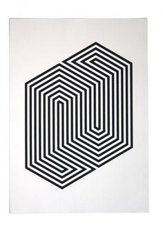 interesting geometric impossible pattern