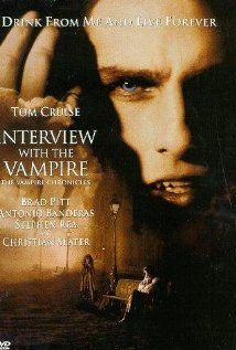 Interview with a Vampire - the only movie starring Tom Cruise that I will watch willingly lol. Oh and there's, uh, Brad Pitt too.. I guess :P