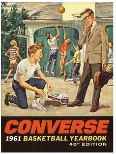 Vintage Converse ad. Who is the cooler looking kid here?
