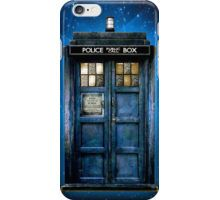 Space And Time traveller Box With yellow stained glass iPhone Case/Skin