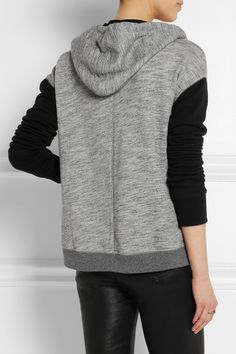 Rag & bone|Georgia hooded cotton-jersey top|