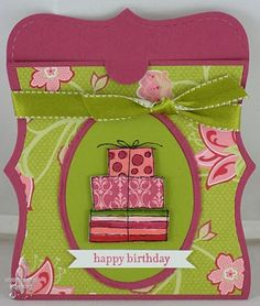 A gift card holder