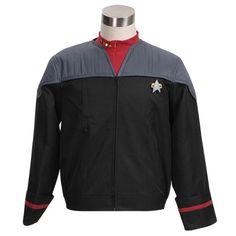 Halloween Costume Star Trek Nemesis Voyager Captain Sisko Jacket #Handmade…