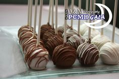 Amber's Hand Rolled Red Velvet Cake Pops up for Auction at the PC Hospital Gala