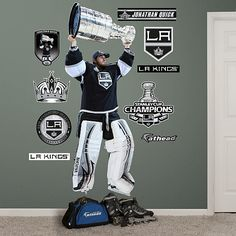 Jonathan Quick Stanley Cup, Los Angeles Kings