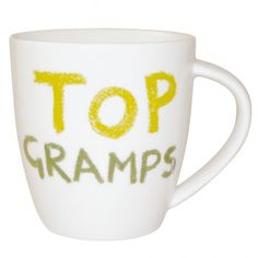#JamieOliver #CheekyMug #Top Gramps http://www.palmerstores.com/product/jamie-oliver-cheeky-mug-top-gramps/887/