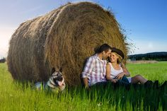 Fort Nelson Photographer – Engagement #fortnelson #engagement #photography #country #farm #love