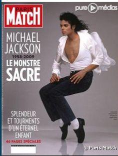 """Ma couverture préférée de Paris Match est celle de Michael Jackson """"king of pop"""" jamais égalé et jusqu'à aujourd'hui sa musique nous accompagne au quotidien. Avec lui j'ai découvert le hot groovin' soul funk et le plaisir de danser #myparismatch"""