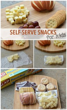Easy & Healthy Self-Serve Snacks for Kids