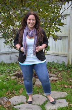 Plus size fashion for women Blogger Full Figured & Fashionable OOTD http://fullfiguredandfashionable.blogspot.com/ | Flats FTW! - gypsy18