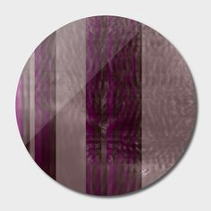 Discover «stripes two», Limited Edition Disk Print by Magdolna Novak - From $65 - Curioos
