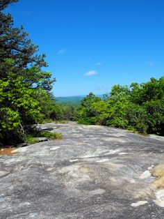Long Rock - one of the incredible hiking destinations at Green River Preserve.