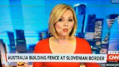 BREAKING news: Australia is building a fence on the border of Slovenia. At least, according to cable news channel CNN.