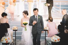 Fun + Elegant Wedding Aboard The Queen Mary — Mink Photography