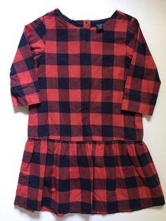 Check out this listing on Kidizen: Gap Check Dress Size 3 via @kidizen #shopkidizen