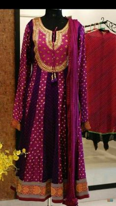 To order cont 9811845533 Salwar Designs, Lehenga Designs, Blouse Designs, Pakistani Outfits, Indian Outfits, Bandhani Dress, Indian Attire, Indian Wear, Desi Clothes