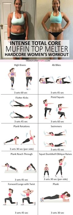 #womensworkout #workout #femalefitness Repin and share if this workout melted your muffin top! Click the pin for the full workout.