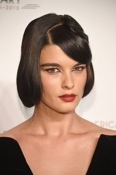 Pin for Later: 44 of the Buzziest Celebrity Beauty Campaigns of 2016 Crystal Renn For Redken