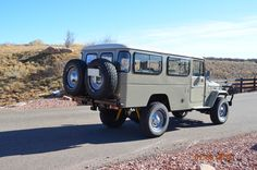 Spotted: RHD, Dual Fuel, 1984 Land Cruiser FJ45 Troopy For Sale