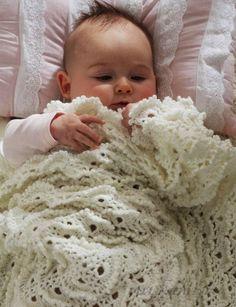 Детское одеяло «безе» вязаное крючком