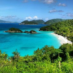 Trunk Bay Beach, St. John US Virgin Islands. So lucky I just went here!!!!:)