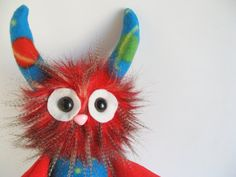 Geeky Universe & Galaxy Monster Plush Doll for folks who love Astronomy from Fluffy Flowers