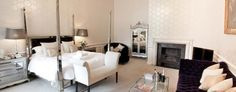 The Georgiana Suite, modern from what was once the Day Nursery. » Spencer of Althorp
