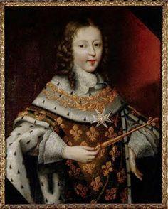 Louis XIV en costume de sacre