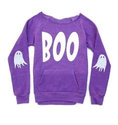 Halloween Shirt. Boo Shirt Sweatshirt. Womens by ICaughtTheSun