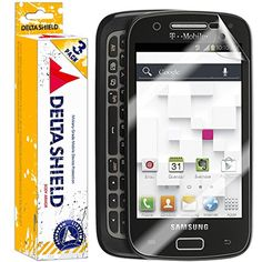 [3-PACK] DeltaShield BodyArmor - Samsung Galaxy S Relay 4G Screen Protector - Premium HD Ultra-Clear Cover Shield w/ Lifetime Replacement - Anti-Bubble  #Accessories