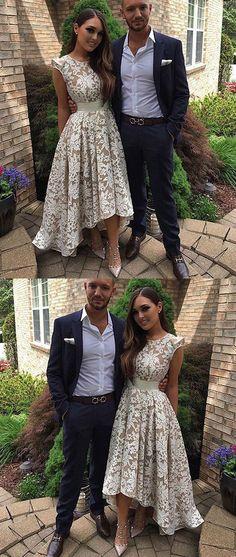 prom dresses 2018 high low prom dresses,lace prom dresses,cap sleeves prom dresses,chic lace prom party dresses #prom #promdress #promdresses #longpromdress #promgowns #promgown #2018style #newfashion #newstyles #2018newprom #eleganttulle #lacepromdress #highlow