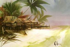 watercolor woorkshops - fast and loose -Roy Fuller