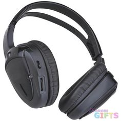 Planet Dual Channel Wireless Infrared Headphones