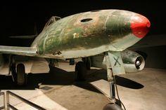 """Luftwaffe Me-262 """"Black X"""" at the Australian War Memorial"""