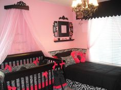 Pink and Zebra nursery! If we ever have a daughter:)