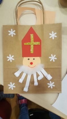 Nikolaus Christmas Crafts For Gifts, Craft Gifts, Christmas Ornaments, St Nicholas Day, Winter Kids, Preschool Crafts, Diy For Kids, Activities For Kids, Diy And Crafts