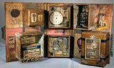 Stampensteins Castle: Tim Holtz Configurations Box Book