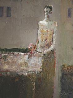 Standing Figure, Fine Artist Portrait Painting, Artist Study with thanks to  - Dan McCaw , Resources for Art Students, CAPI ::: Create Art Portfolio Ideas at milliande.com , Inspiration for Art School Portfolio Work