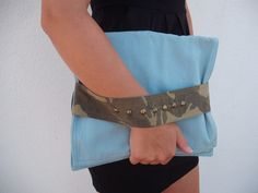 Modern Clutch  women acessories by NavitrineShop on Etsy