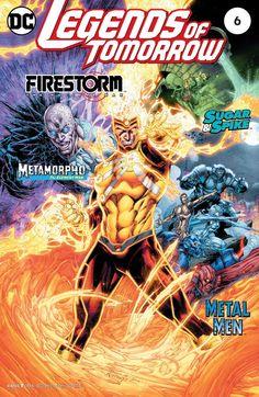 Legends of Tomorrow (2016) #6 #DC @dccomics #LegendsOfTomorrow (Cover Artist: Brett Booth, Andrew Dalhouse & Norm Rapmund) Release Date: 8/17/2016