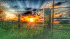 SW Iowa sunset