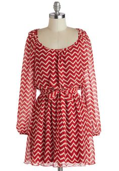 Cute zig zag dress
