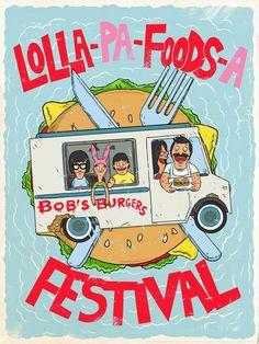 Lolla-pa-food-sa Festival   Bob's Burgers