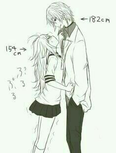 Cute to see short girls with tall boyfriends, makes for interesting, romantic moments.me and my husband. Cute to see short girls with tall boyfriends, makes for interesting, romantic moments.me and my husband. Couple Manga, Anime Love Couple, Cute Anime Couples, Anime Couples Sleeping, Anime Couples Cuddling, Anime Couples Hugging, Girl Couple, Couple Cartoon, Cosplay Anime