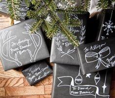 Christmas Gift Wrapping #bemorefestive @Marisa McClellan Pennington Foster
